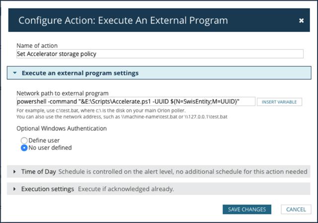 Execute an External Program